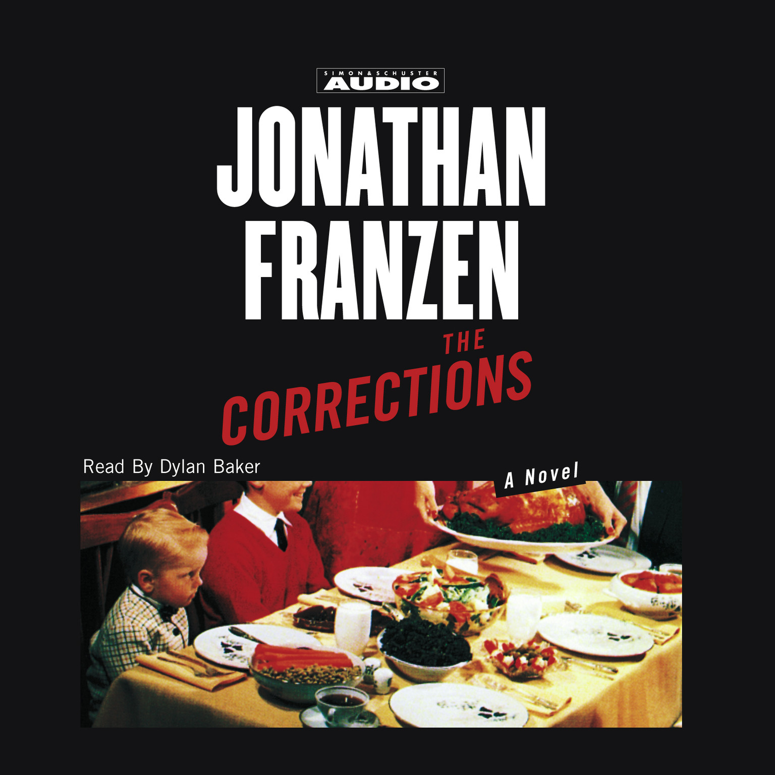 Printable The Corrections Audiobook Cover Art