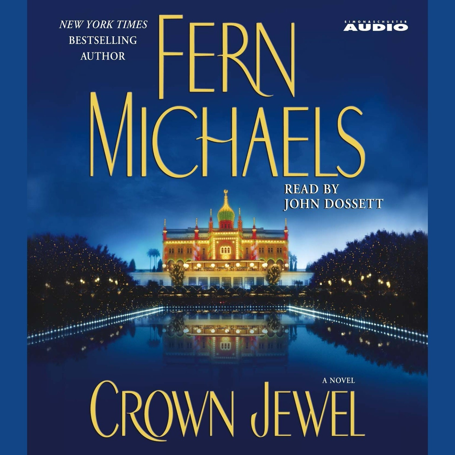 Printable Crown Jewel Audiobook Cover Art