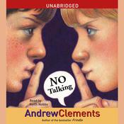 No Talking Audiobook, by Andrew Clements