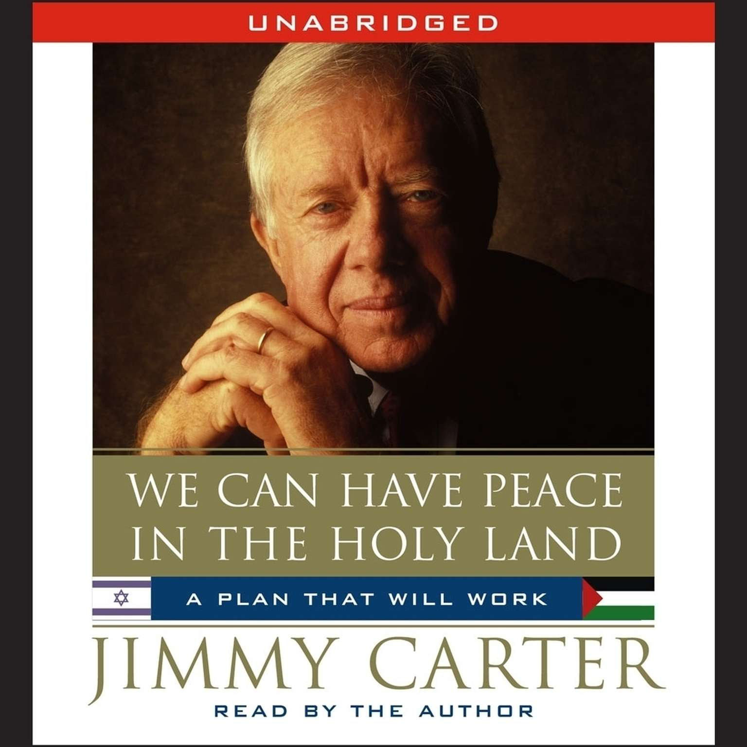 Printable We Can Have Peace in the Holy Land Audiobook Cover Art