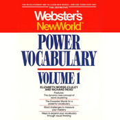 Webster's New World Power Vocabulary Audiobook, by Elizabeth Morse-cluley, Richard Read