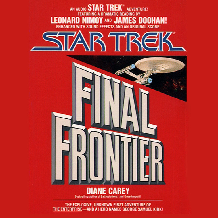 Printable Star Trek: Final Frontier Audiobook Cover Art