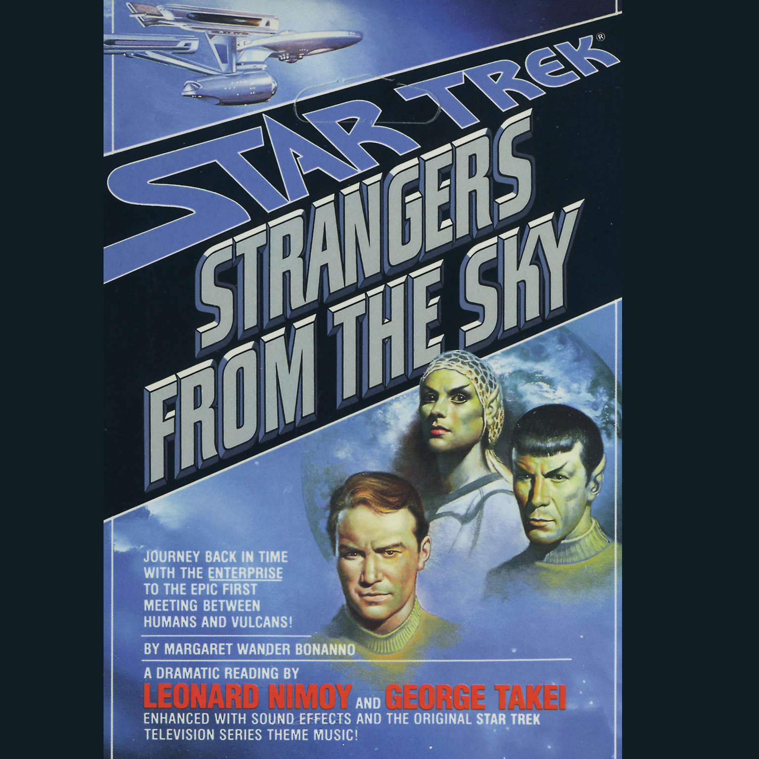 Printable Strangers from the Sky Audiobook Cover Art