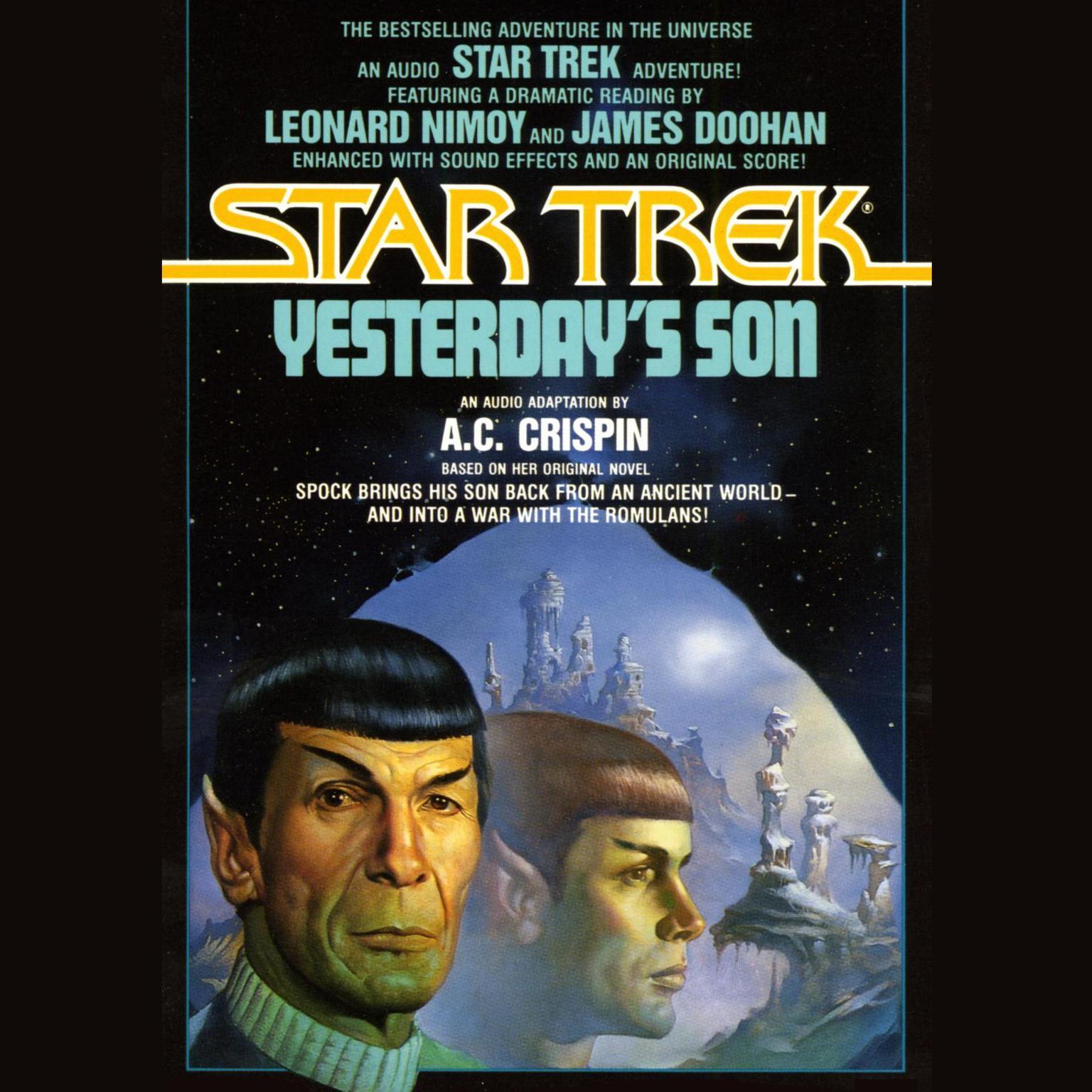 Printable Star Trek: Yesterday's Son Audiobook Cover Art