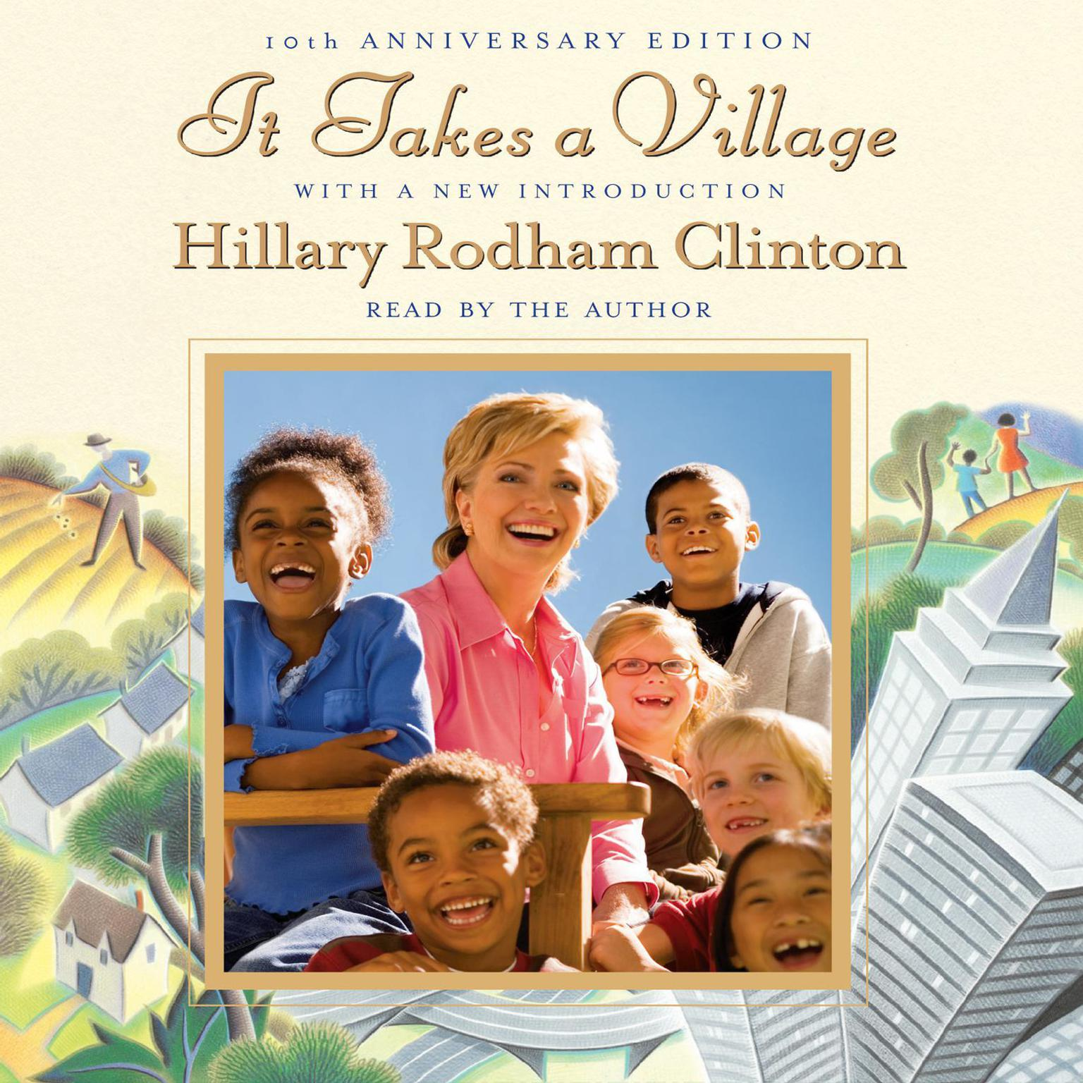 Printable It Takes a Village Audiobook Cover Art