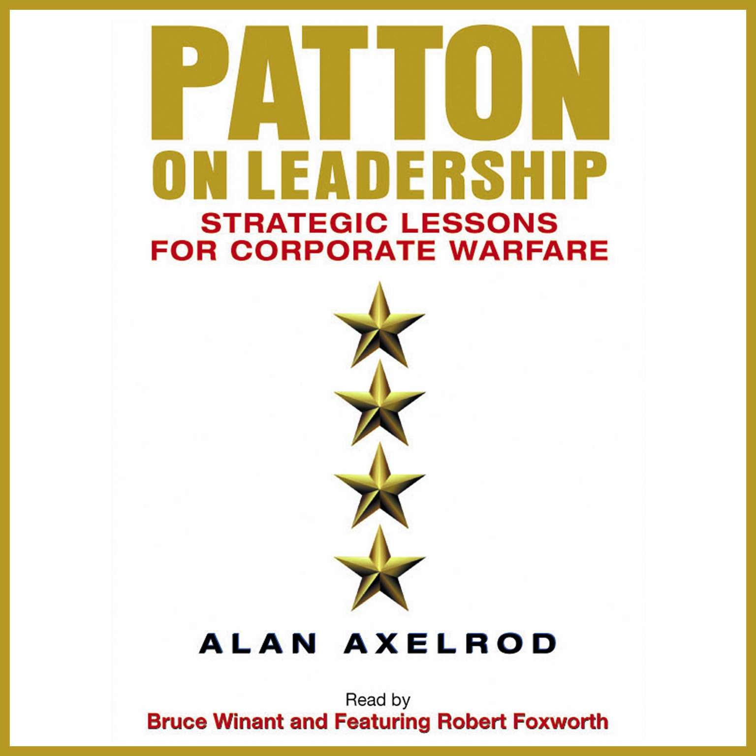 Printable Patton on Leadership: Strategic Lessons for Corporate Warfare Audiobook Cover Art