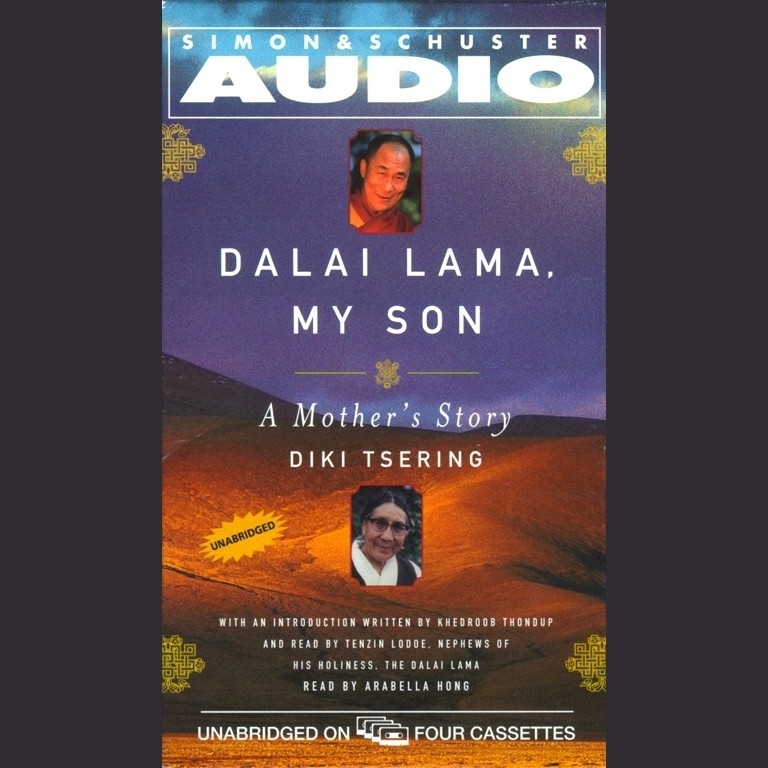 Printable Dalai Lama: My Son Audiobook Cover Art