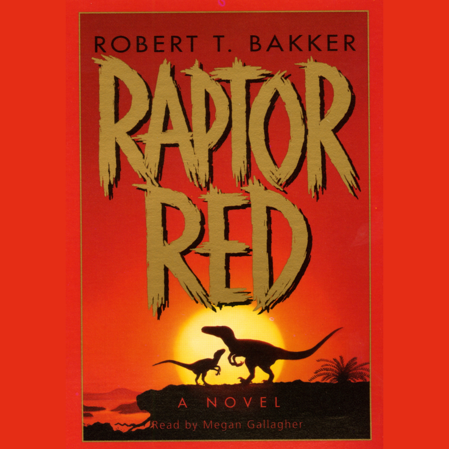 Printable Raptor Red Audiobook Cover Art