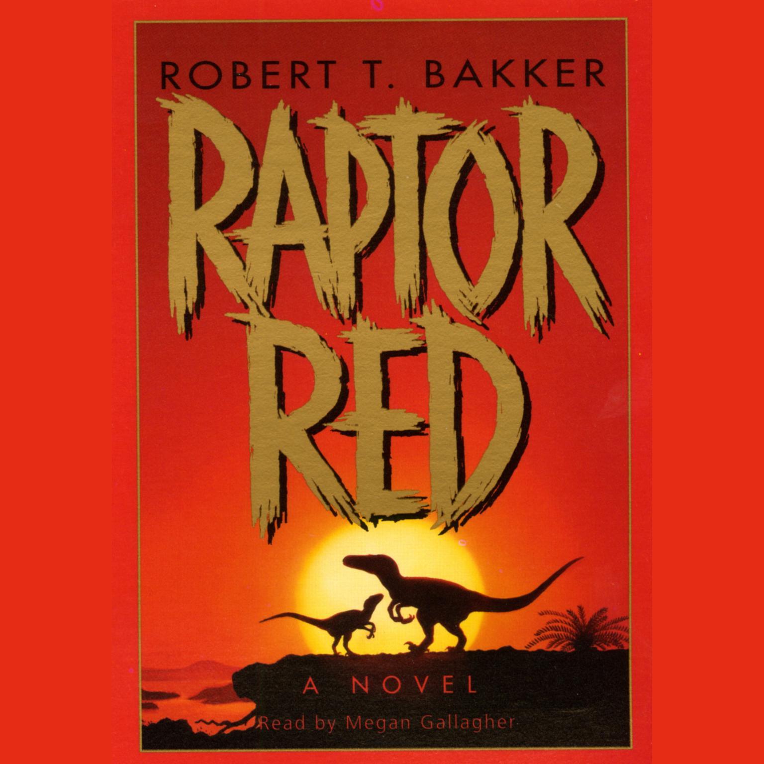 Printable Raptor Red Audiobook Cover Art