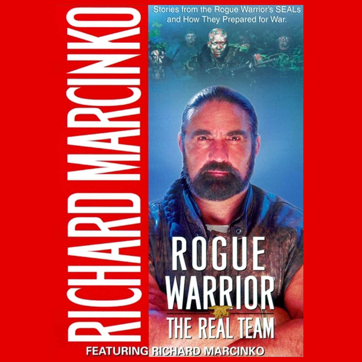 Printable Rogue Warrior: The Real Team: Real Team Audiobook Cover Art