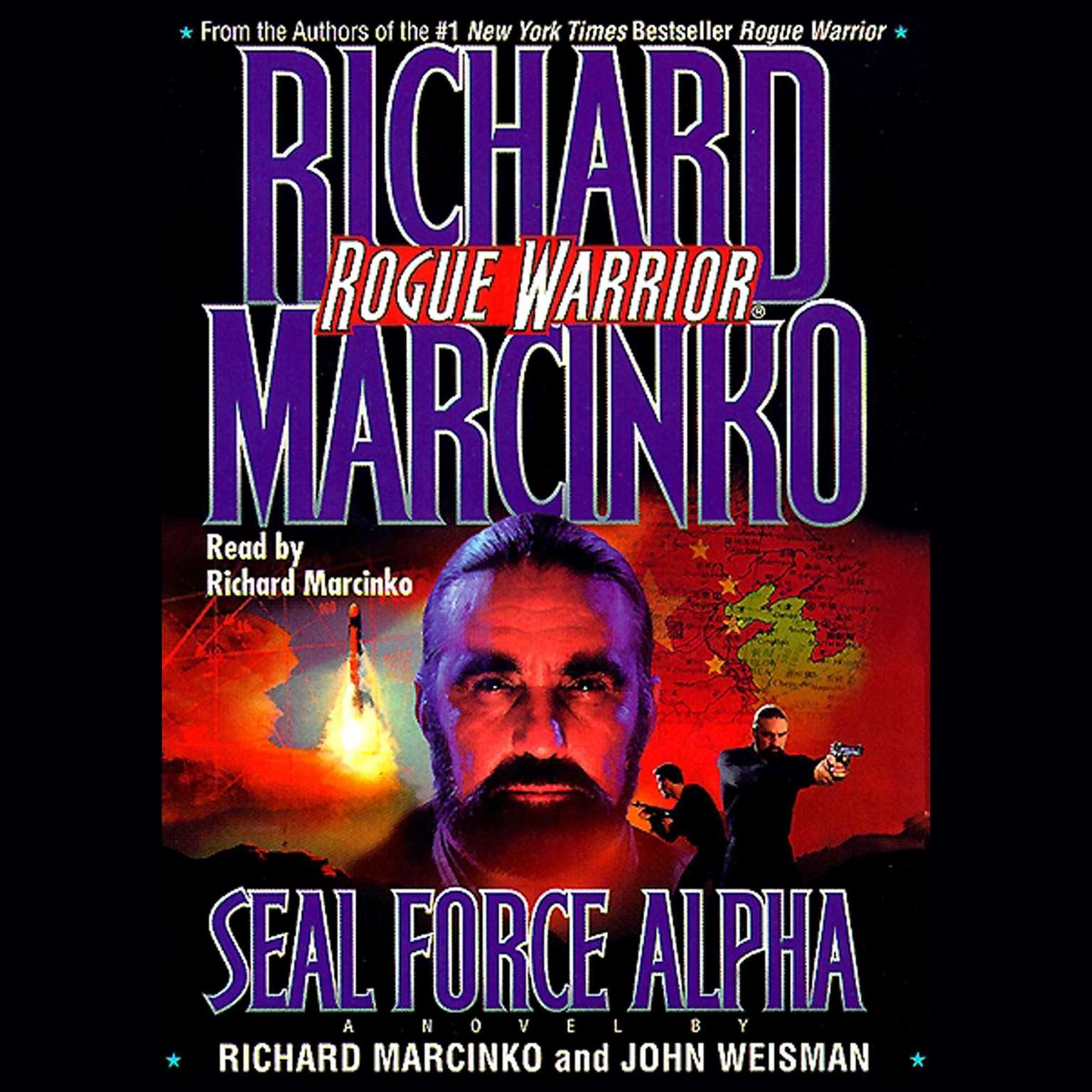 Printable Rogue Warrior: SEAL Force Alpha Audiobook Cover Art