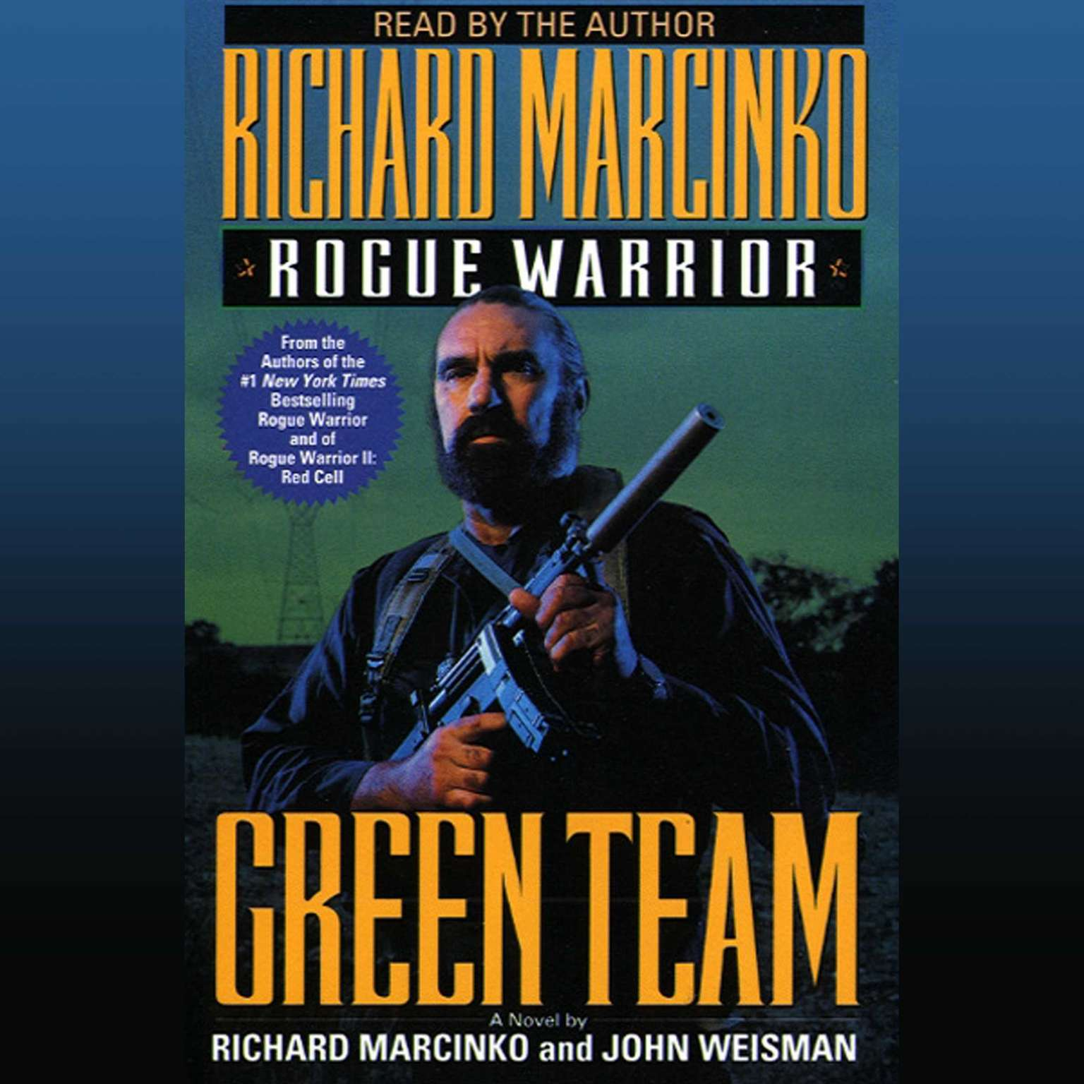 Printable Rogue Warrior: Green Team Audiobook Cover Art
