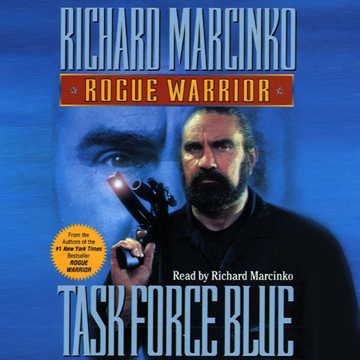 Printable Rogue Warrior: Task Force Blue: Task Force Blue Audiobook Cover Art
