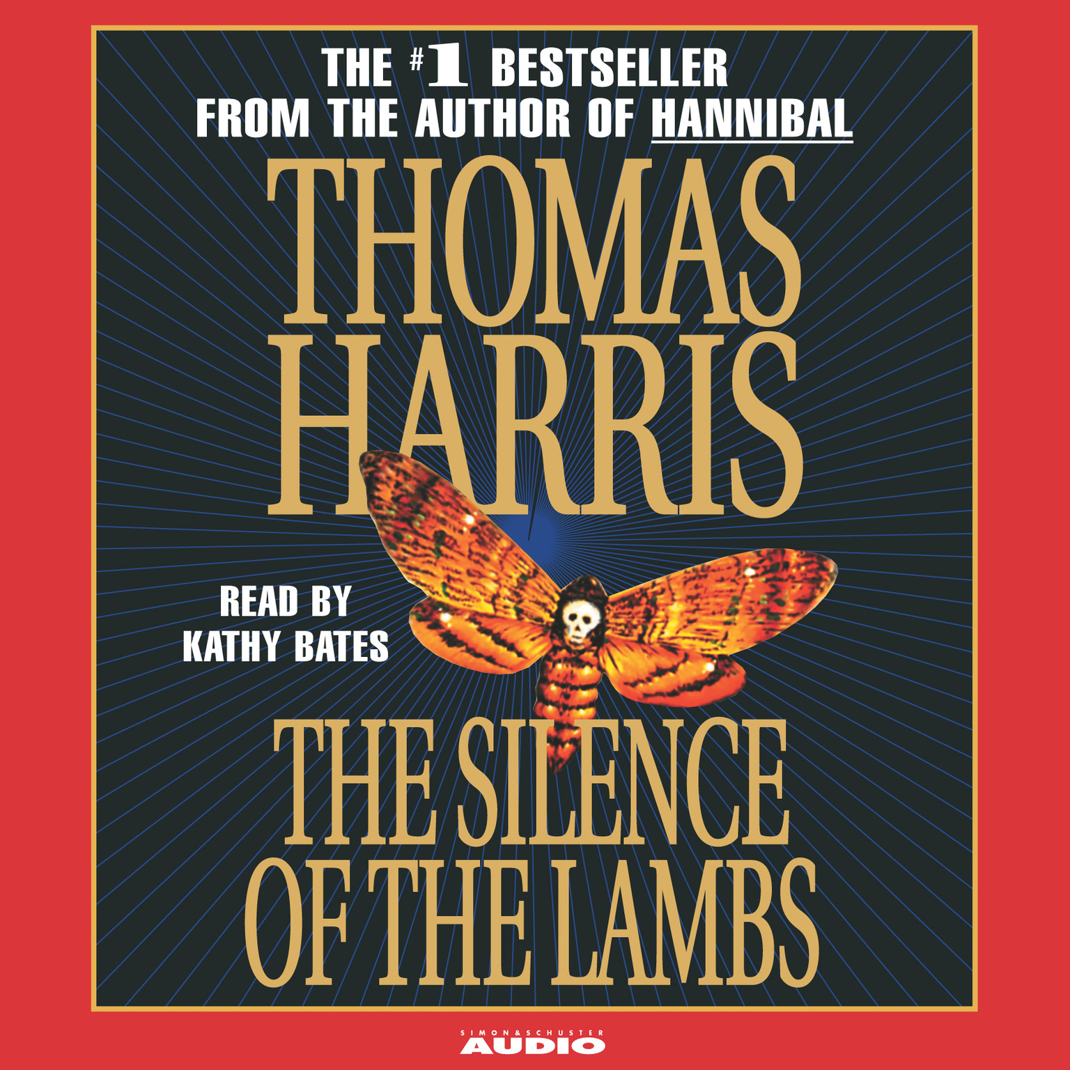 Printable The Silence of the Lambs Audiobook Cover Art