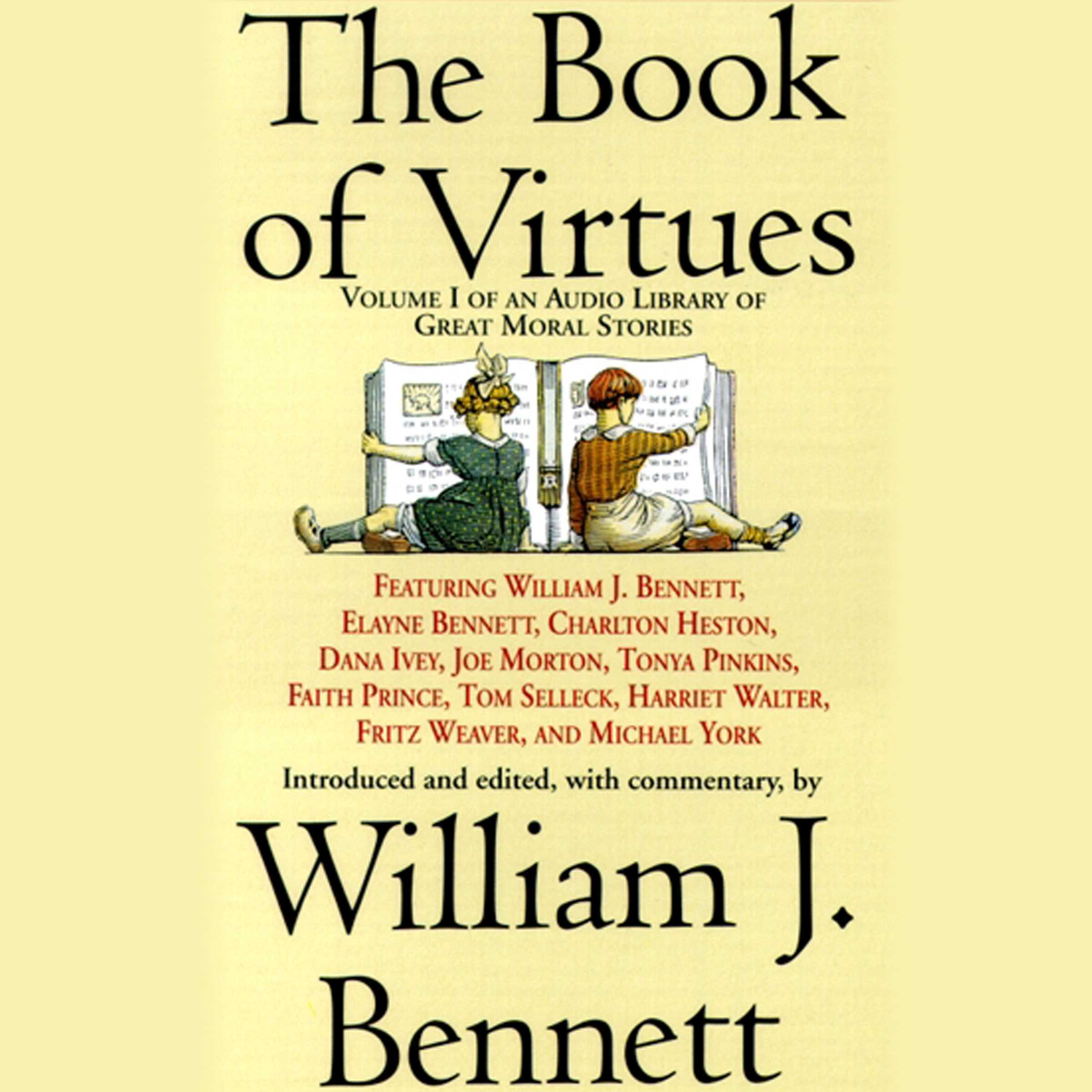 Printable The Book of Virtues: An Audio Library of Great Moral Stories Audiobook Cover Art