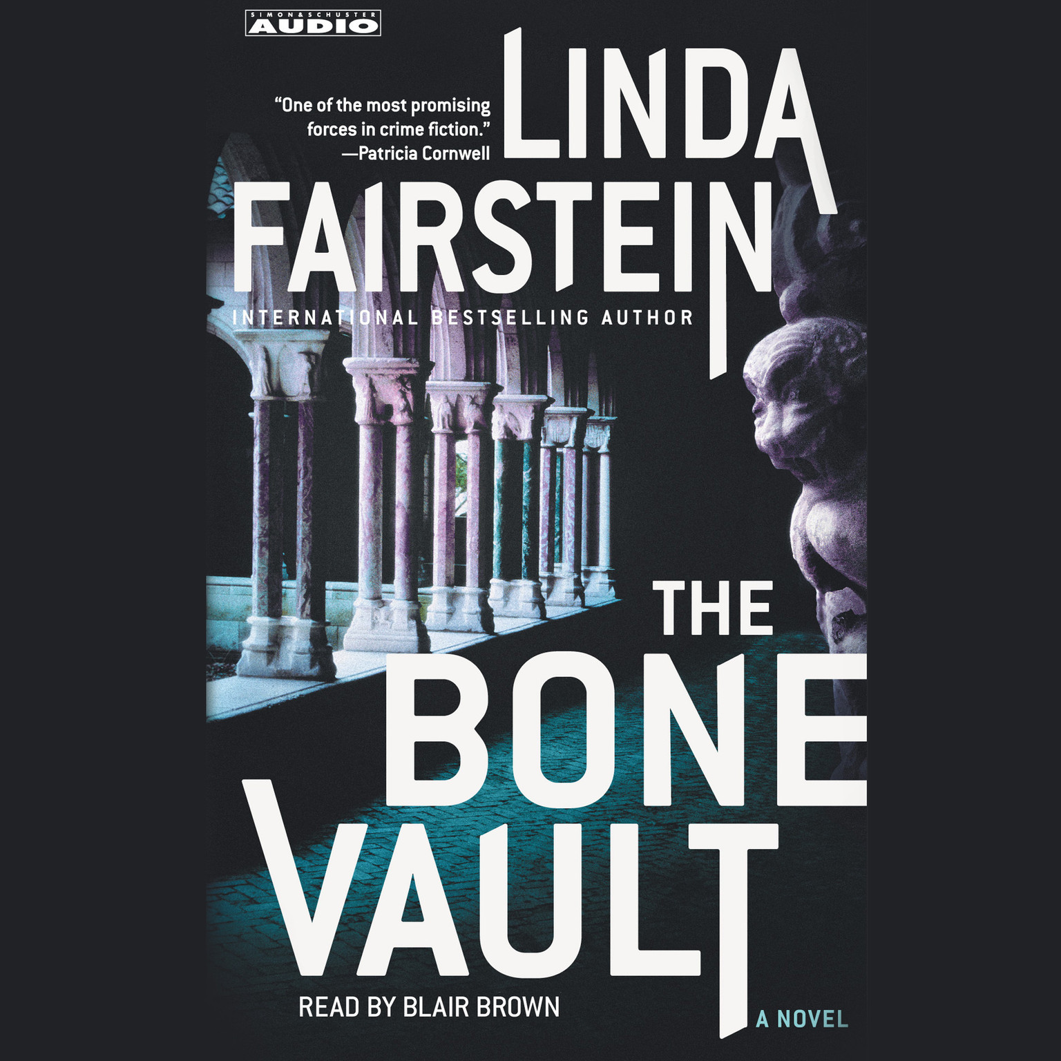 Printable The Bone Vault: A Novel Audiobook Cover Art