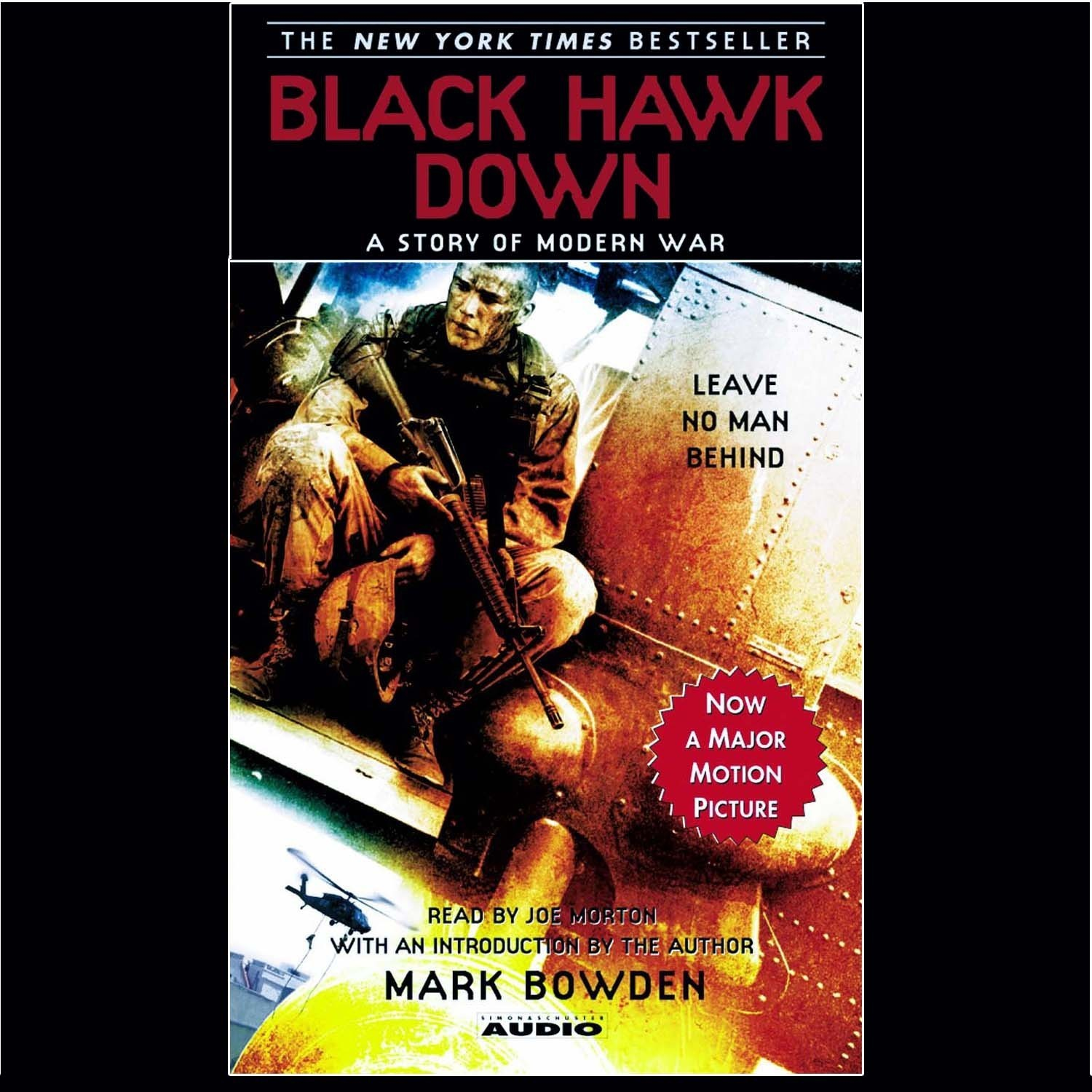 Printable Black Hawk Down Audiobook Cover Art