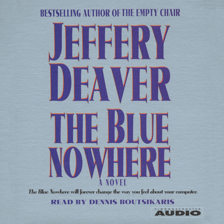 Printable The Blue Nowhere Audiobook Cover Art