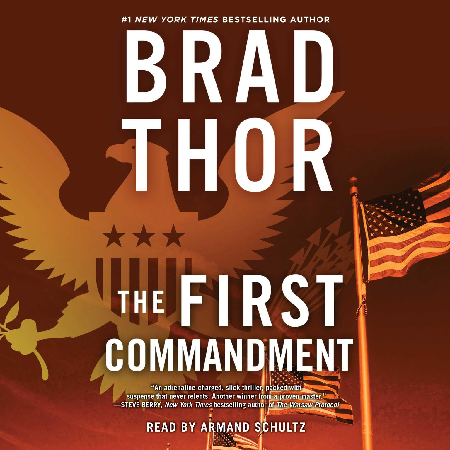 Printable The First Commandment: A Thriller Audiobook Cover Art