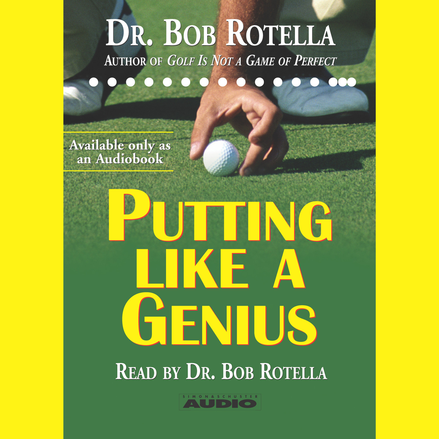 Printable Putting Like a Genius Audiobook Cover Art
