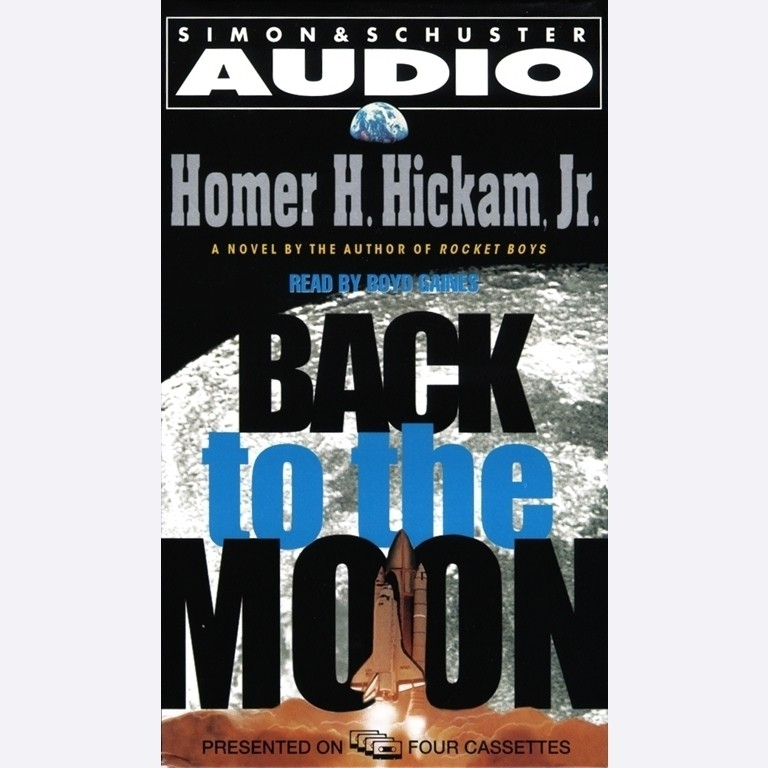 Printable Back to the Moon Audiobook Cover Art