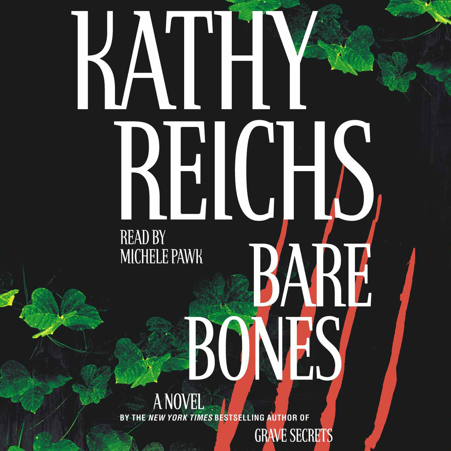 Printable Bare Bones: A Novel Audiobook Cover Art