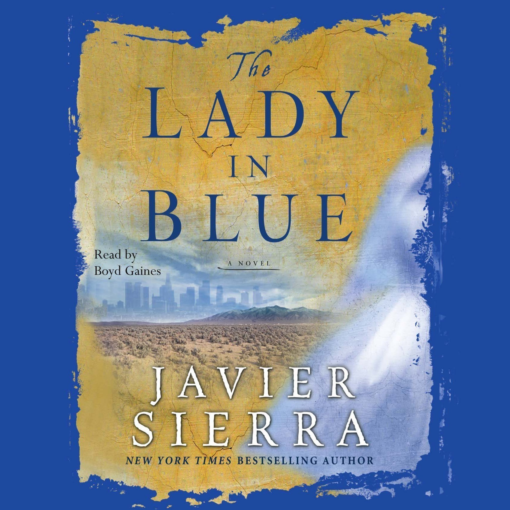 Printable The Lady in Blue Audiobook Cover Art
