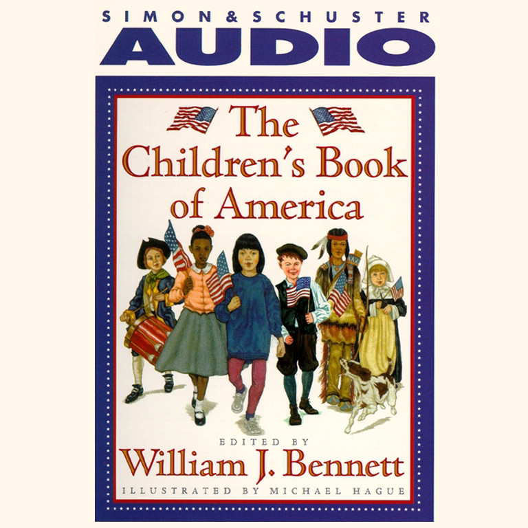 Printable The Children's Book of America Audiobook Cover Art