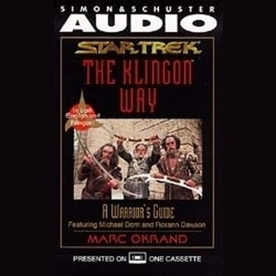 Printable The Klingon Way: A Warrior's Guide Audiobook Cover Art