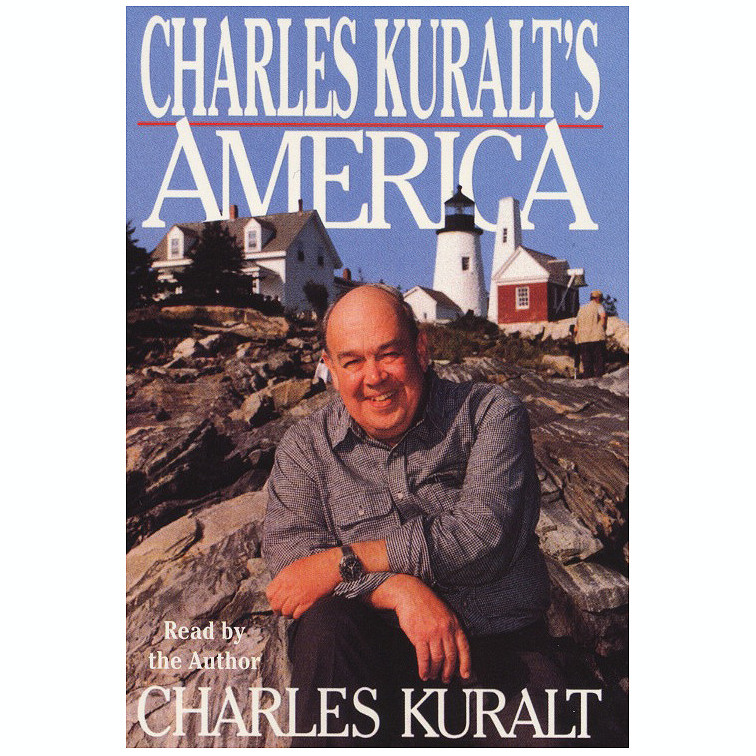 Printable Charles Kuralt's America Audiobook Cover Art