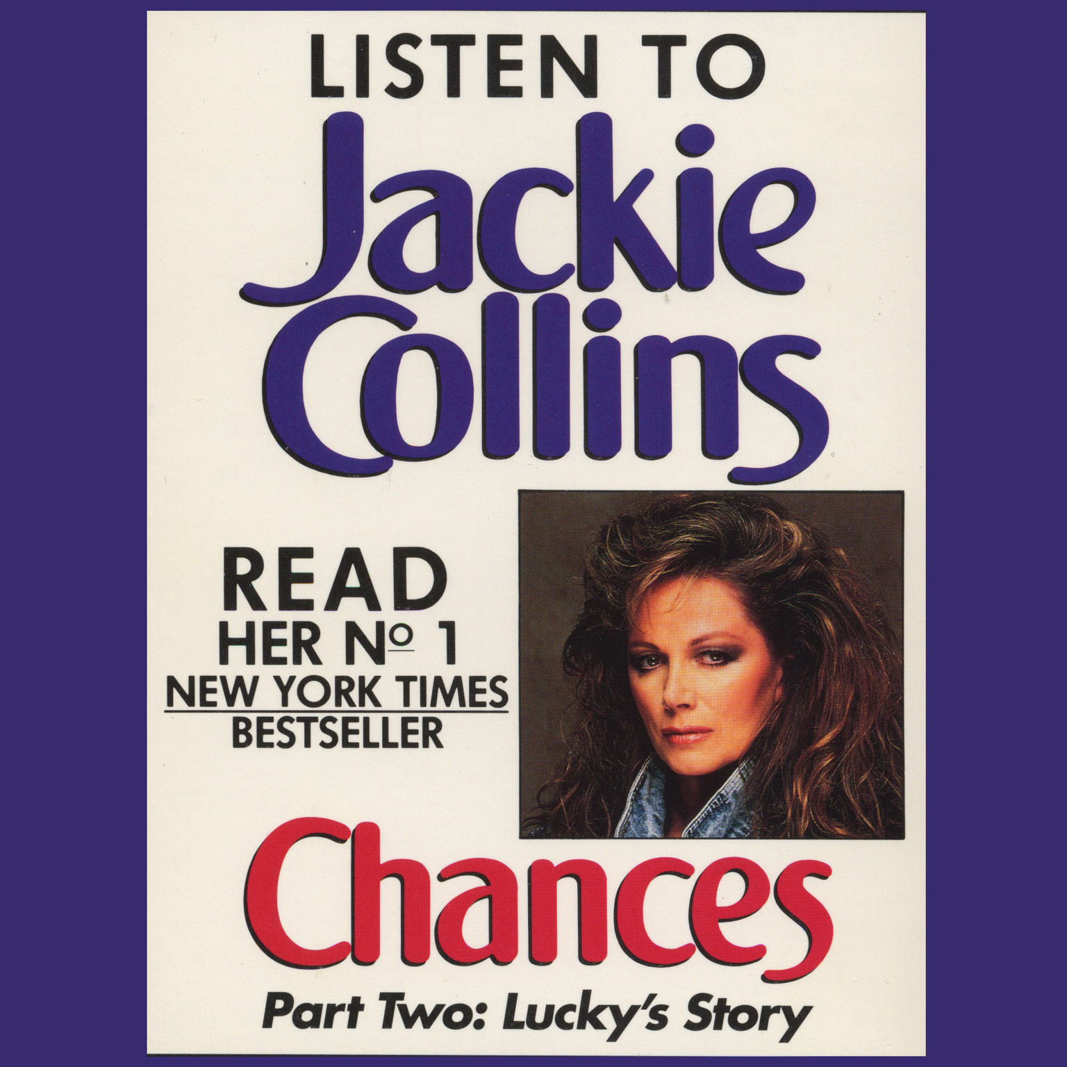 Printable Chances Part 2: Lucky's Story Audiobook Cover Art