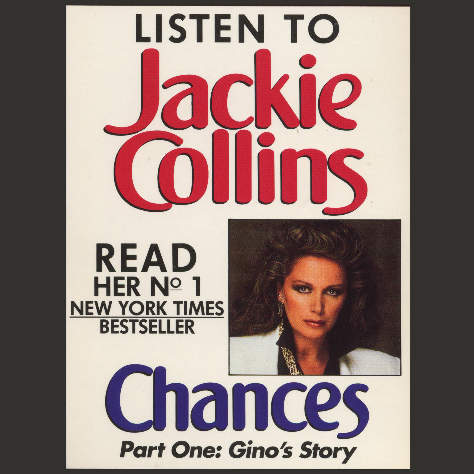 Printable Chances Part 1: Gino's Story Audiobook Cover Art