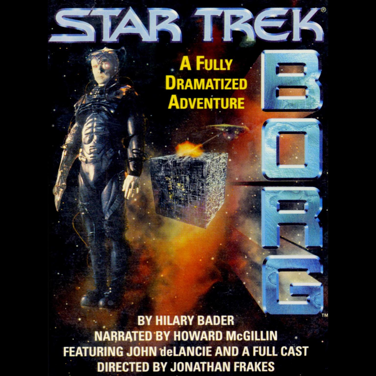 Star Trek Borg (Abridged): Experience the Collective Audiobook, by Hilary Bader