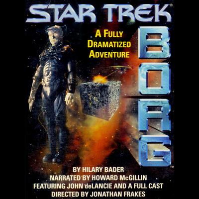 Printable Star Trek: Borg: Experience the Collective Audiobook Cover Art