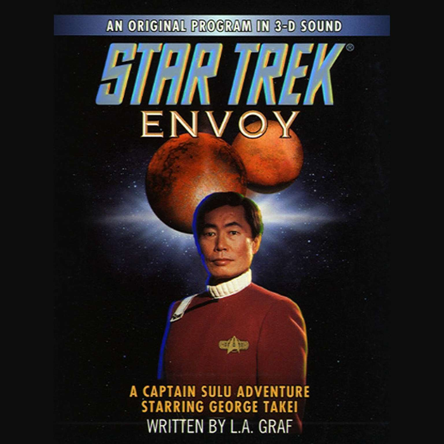 Printable Star Trek: Envoy: A Captain Sulu Adventure Audiobook Cover Art