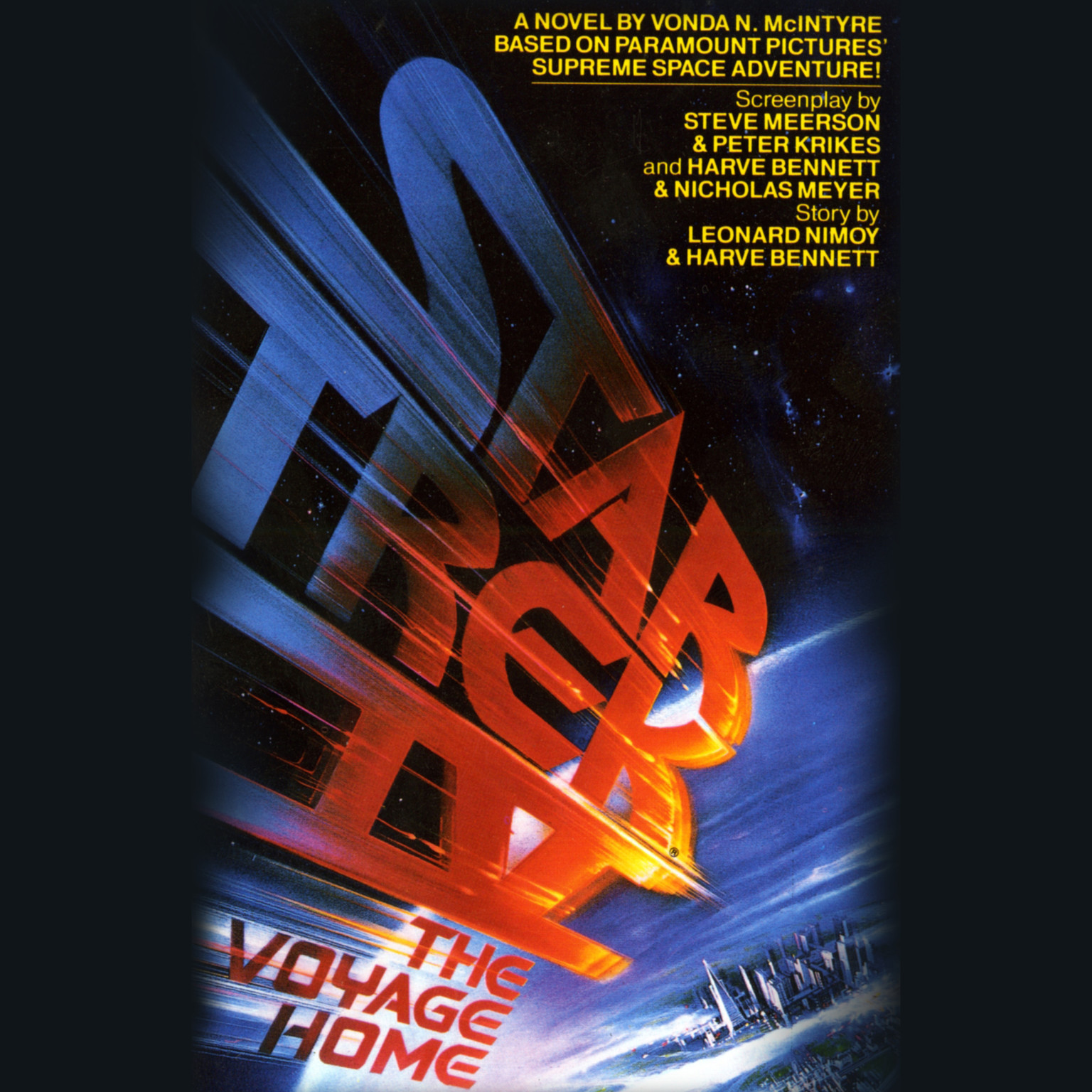 Printable Star Trek IV: The Voyage Home Audiobook Cover Art