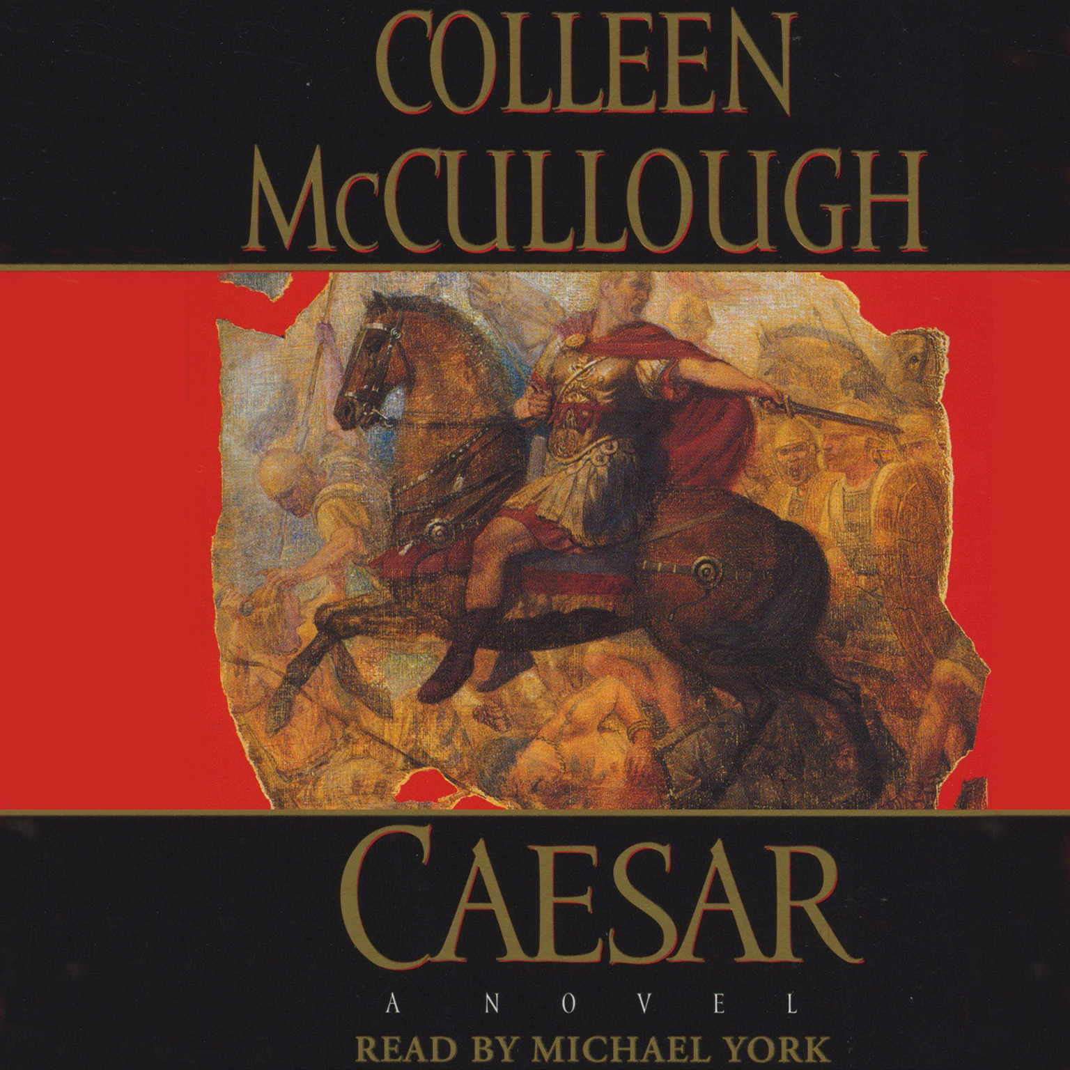 Printable Caesar Audiobook Cover Art