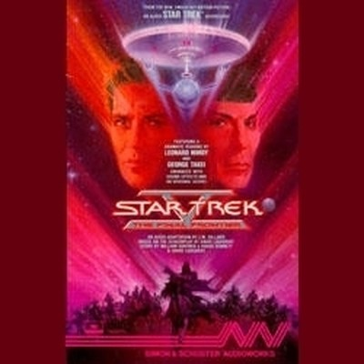 Printable Star Trek 5: the Final Frontier Audiobook Cover Art
