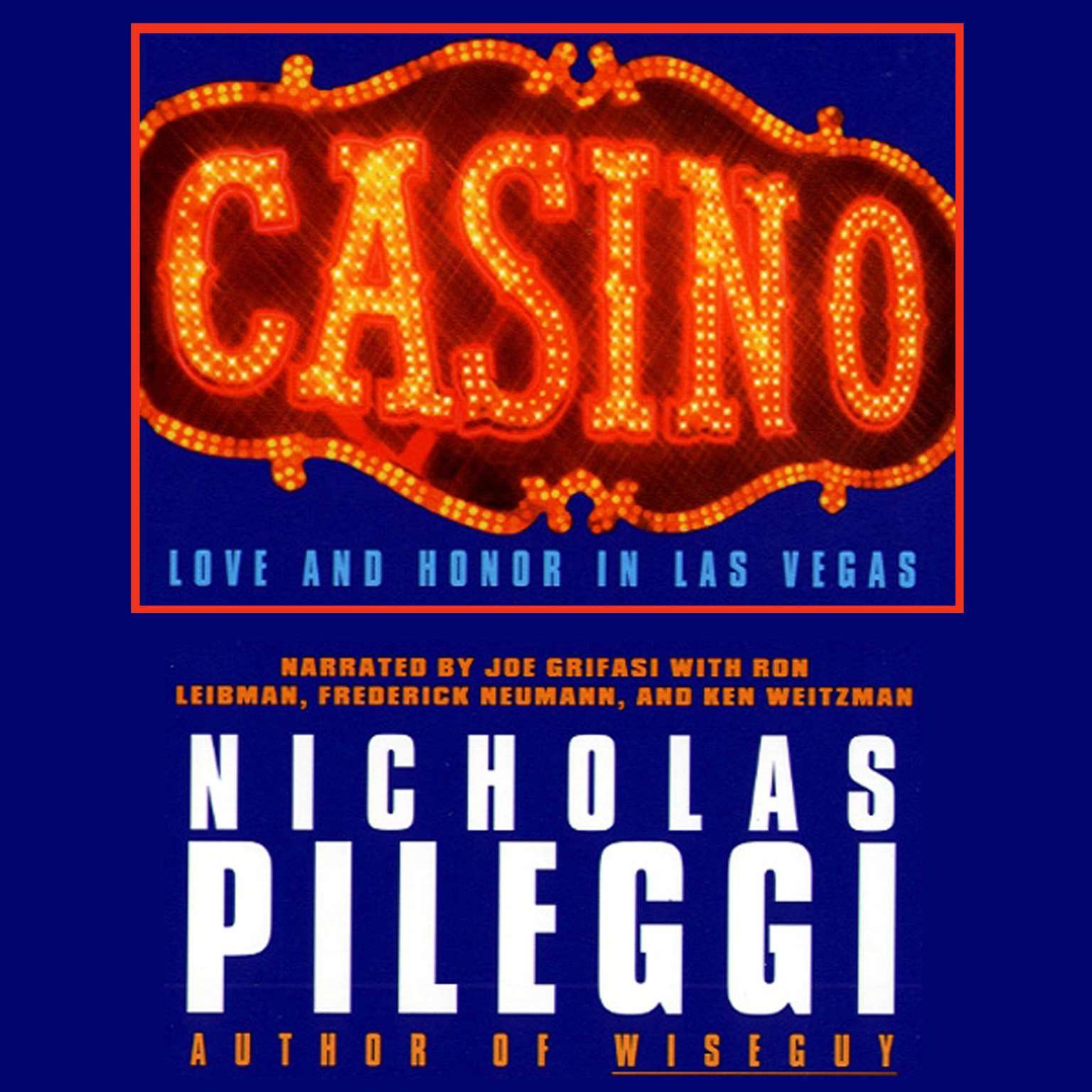 Printable Casino: Love and Honor in Las Vegas Audiobook Cover Art