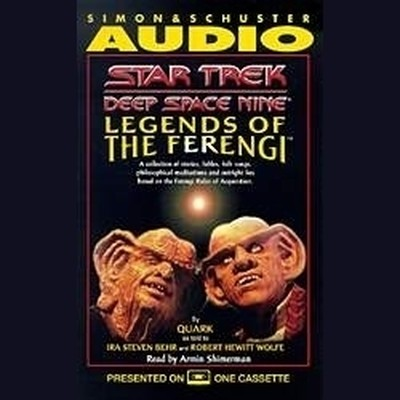 Printable Star Trek Deep Space Nine: Legends of the Ferengi Audiobook Cover Art