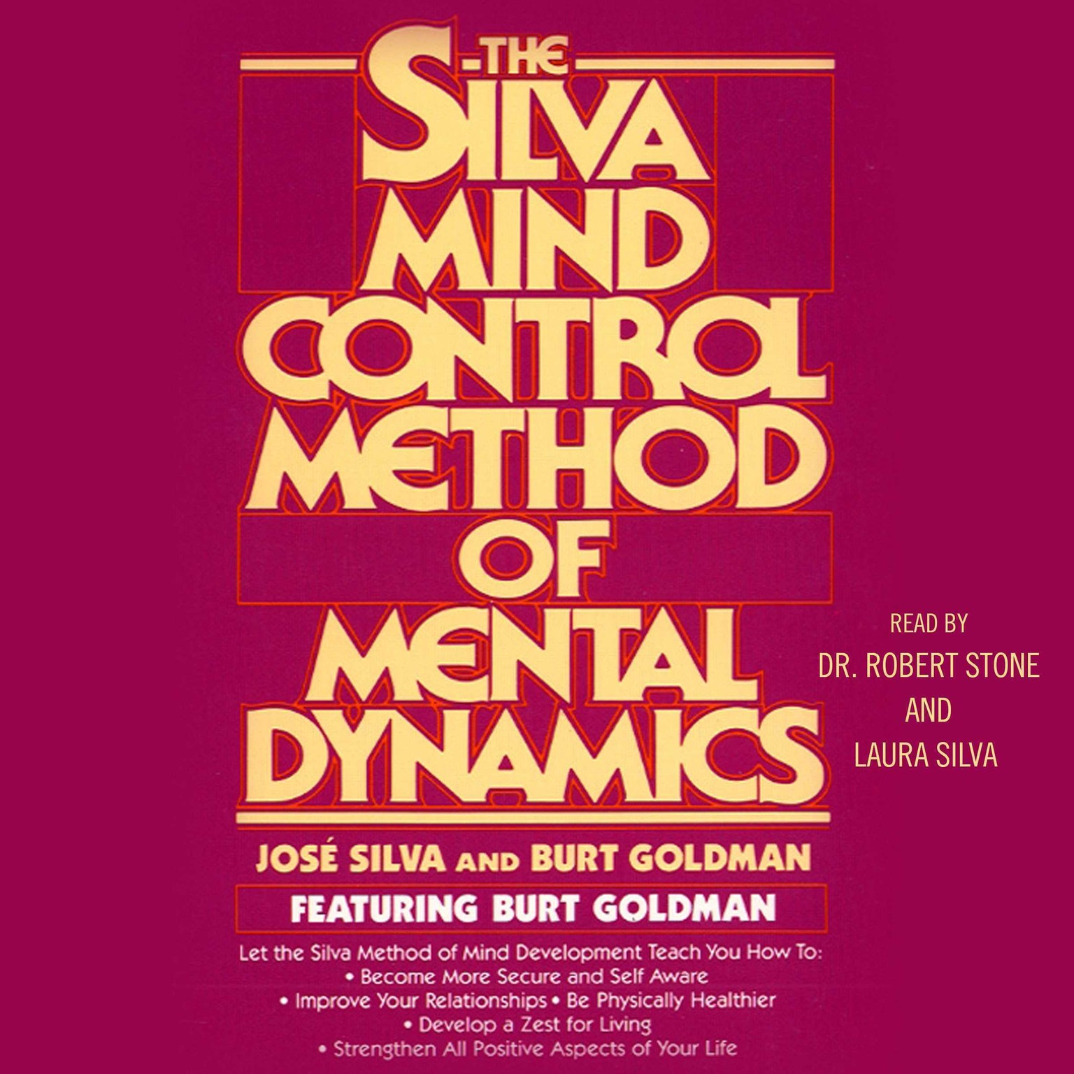 Printable Silva Mind Control Method of Mental Dynamics Audiobook Cover Art