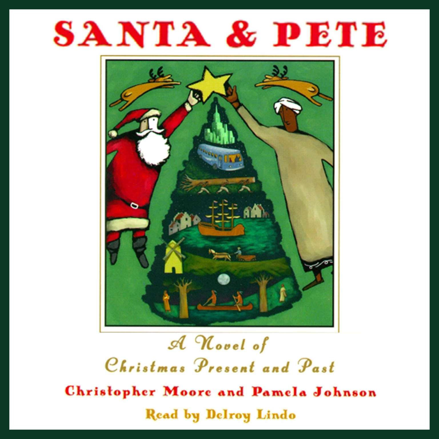 Printable Santa & Pete: A Novel of Christmas Present and Past Audiobook Cover Art