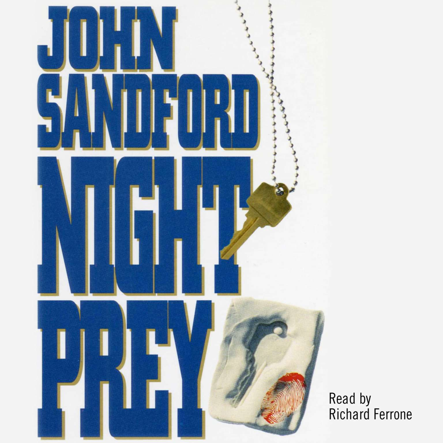 Printable Night Prey Audiobook Cover Art