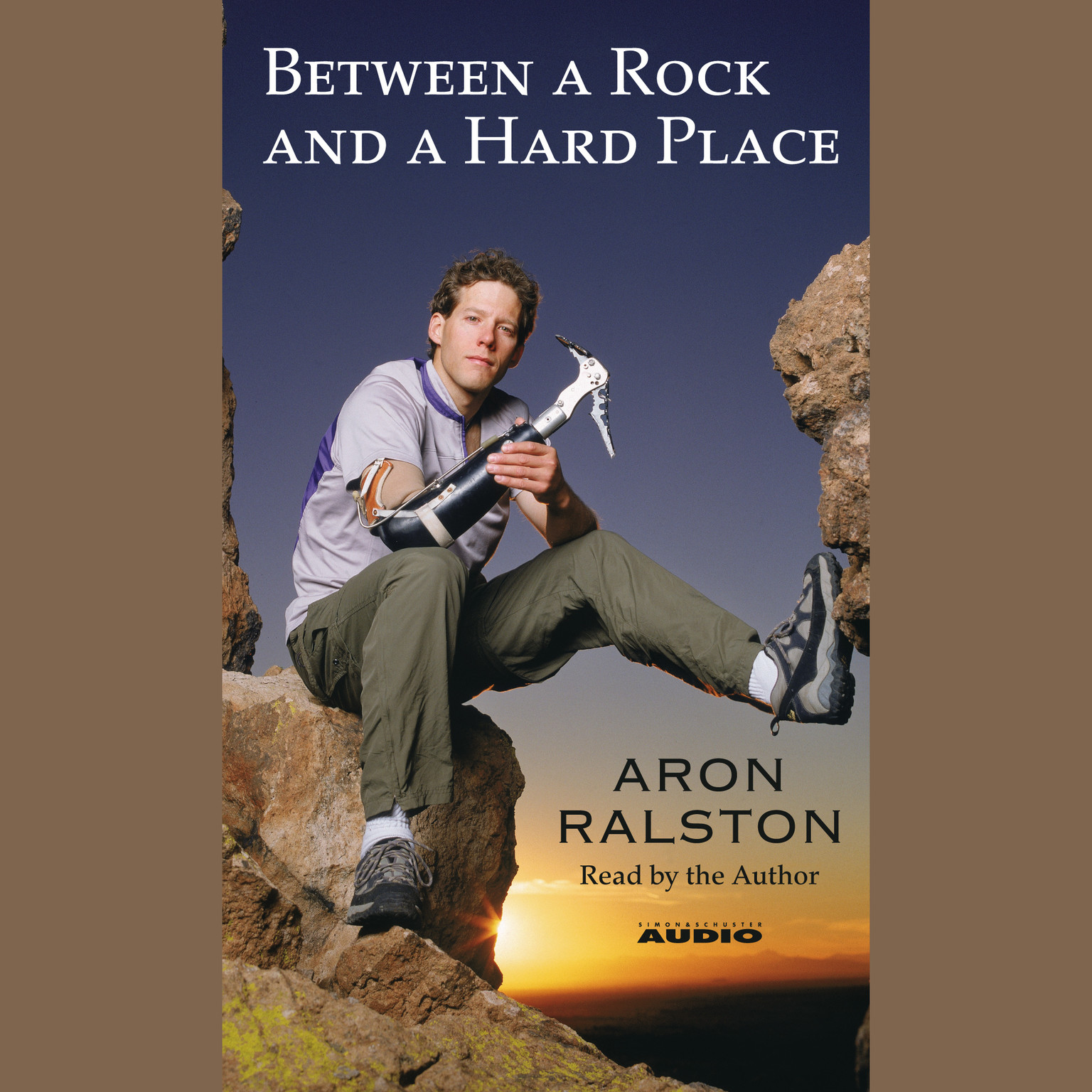 Printable Between a Rock and a Hard Place Audiobook Cover Art