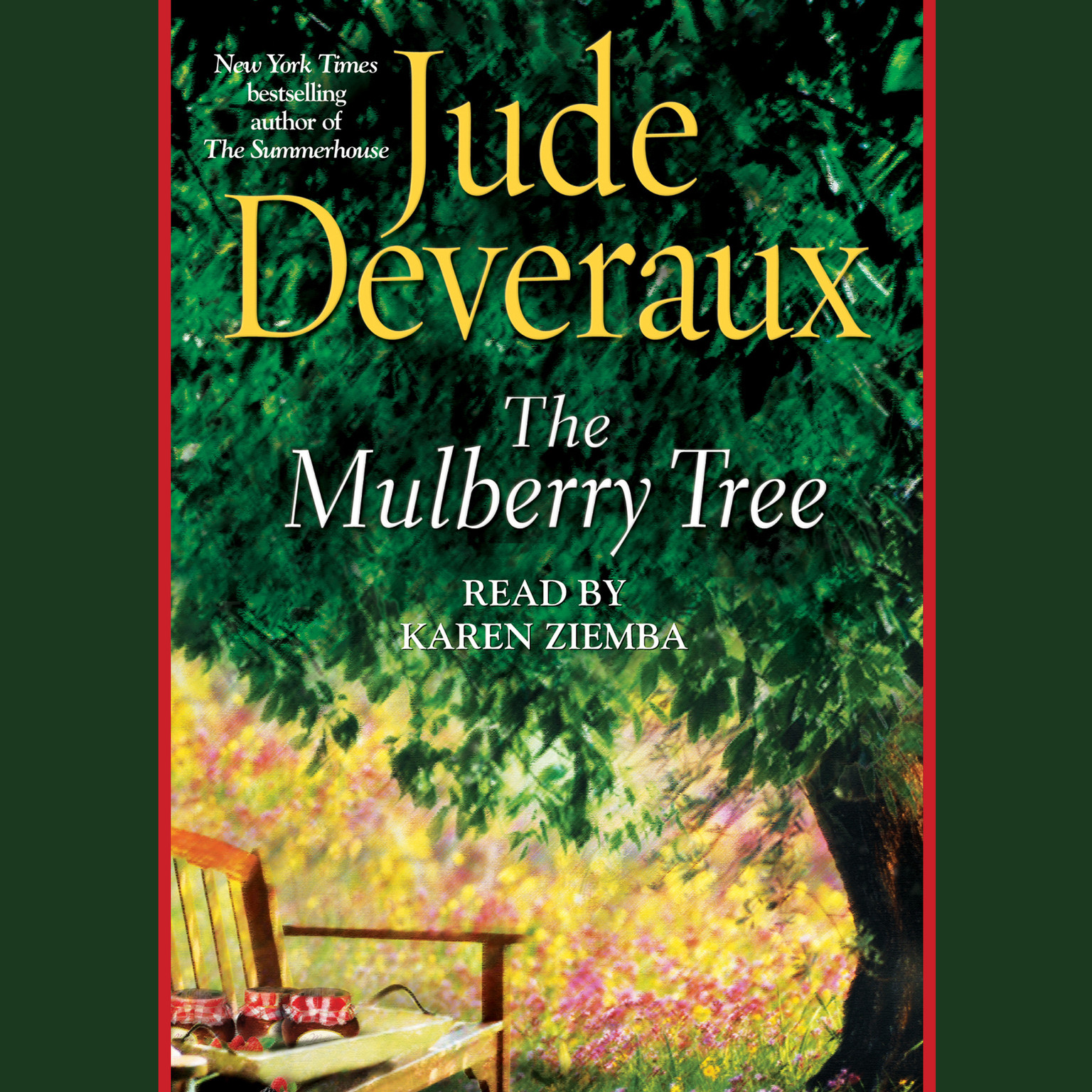 Printable The Mulberry Tree Audiobook Cover Art