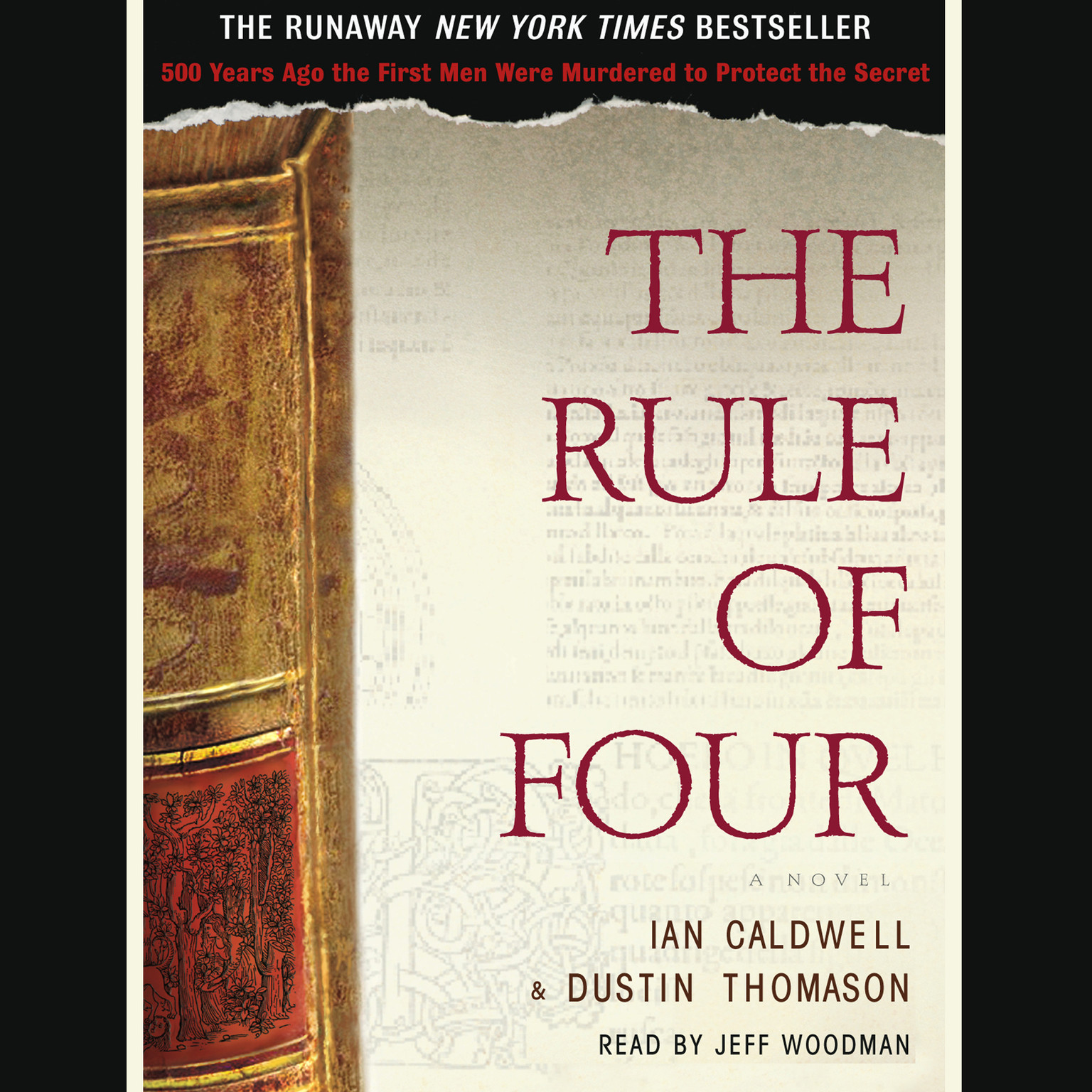 Printable The Rule of Four Audiobook Cover Art