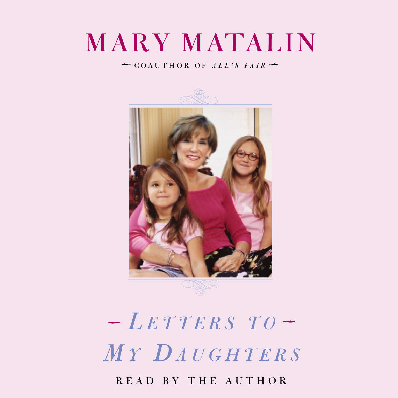 Printable Letters to My Daughters Audiobook Cover Art