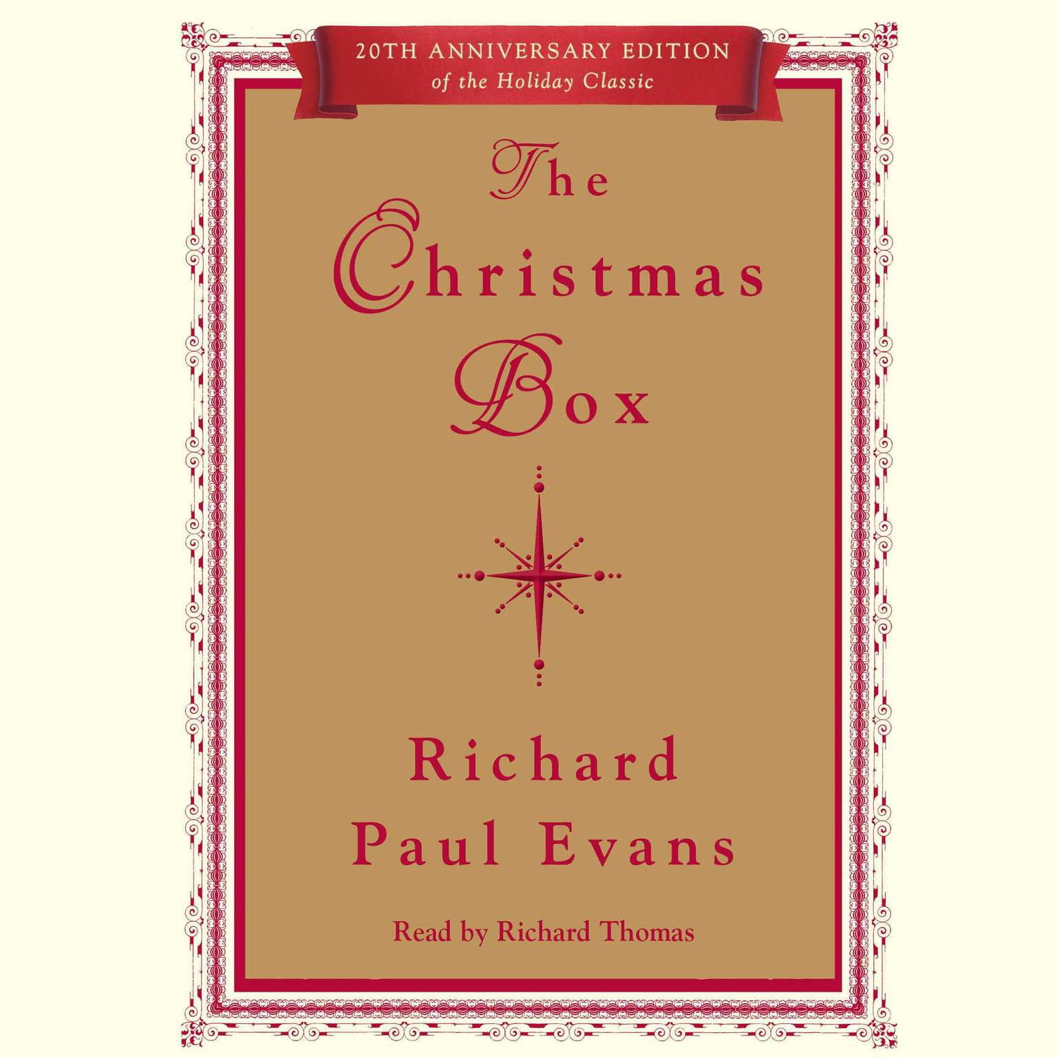 Printable Christmas Box Audiobook Cover Art