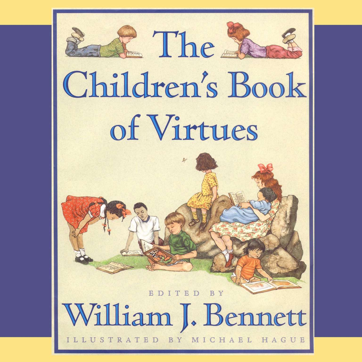 Printable The Children's Book of Virtues: Audio Treasury Audiobook Cover Art