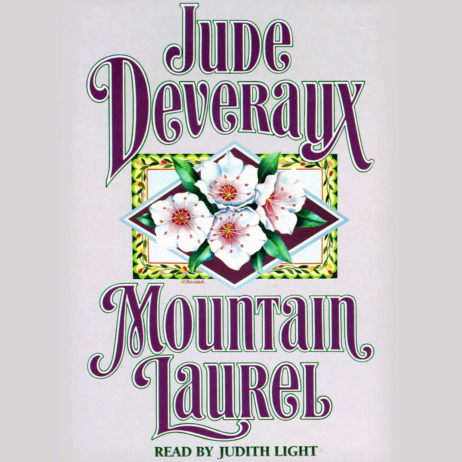 Printable Mountain Laurel Audiobook Cover Art